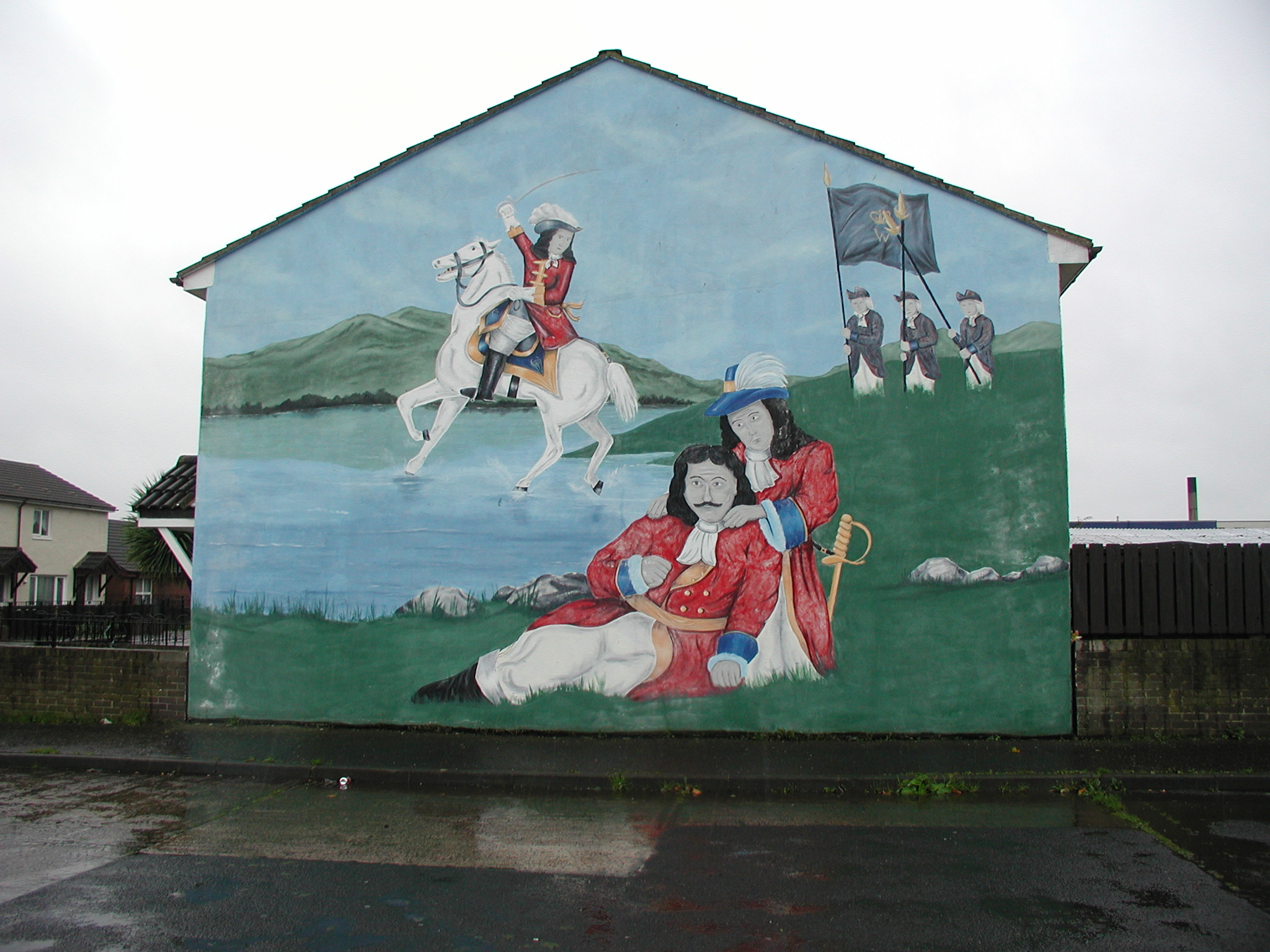 Coleraine-King Billy Mural